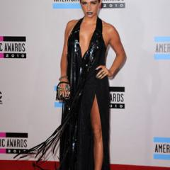 For Ke$sha, this outfit is actually refreshingly conservative.