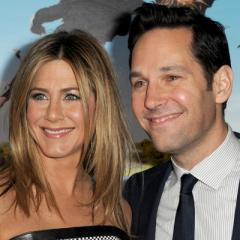 <b>Paul Rudd - 1998 - 1999</b><br>Jennifer Aniston and Rudd recently worked together on Wanderlust -- the same film where she fell for fiance Justin Theroux -- and their last movie together, 1998&#39;s The Object of My Affection, resulted in romance, too. (That time, though, the rumour was Aniston and Rudd were dating.)