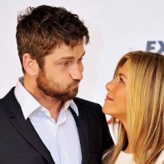 <b>Gerard Butler - 2010</b><br>The only good thing to have come out of filming The Bounty Hunter may have been Aniston&#39;s relationship with her co-star. That said, neither actor confirmed the rumours they were together.